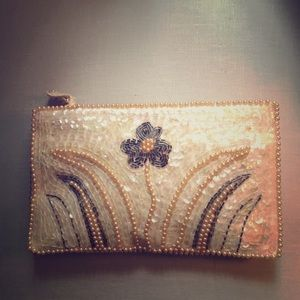 Vintage sequin and Bead purse